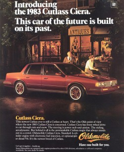 1983 oldsmobile cutlass ciera