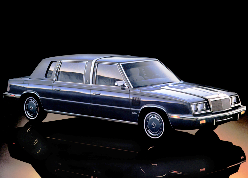 1984 Chrysler Executive Limousine Classic Cars Today Online