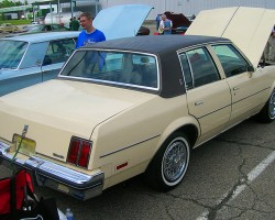 1984 Oldsmobile Cutlass Salon 4-door sedan.  (Owned by John Gleason)