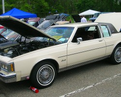 1984 Oldsmobile Delta 88 coupe.  (Owned by Allan Sangiacomo)
