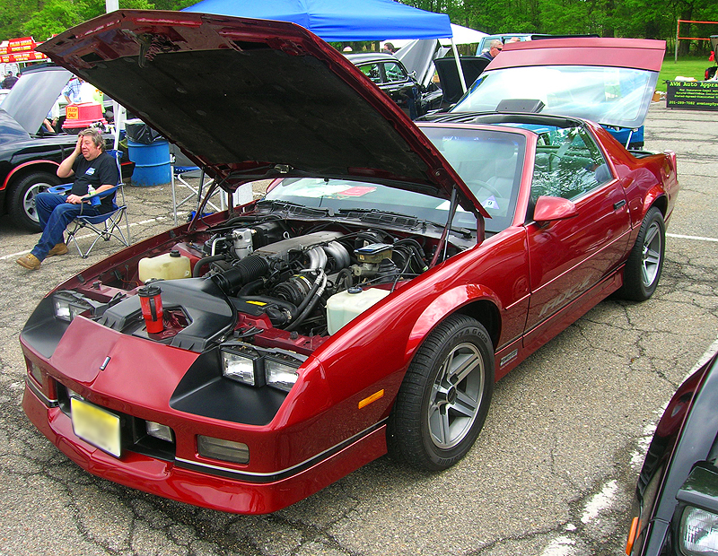 1986 Chevrolet Camaro IROC-Z.  (Owned by Bob Kelly)