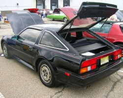 1986 Nissan 300ZX 2+2 4 seat coupe.  (Owned by Mark Forte)
