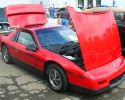 1986 Pontiac Fiero.  (Owned by Rob Reynolds)