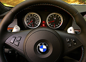 bmw m6 paddle shifter small classic cars today online. Black Bedroom Furniture Sets. Home Design Ideas