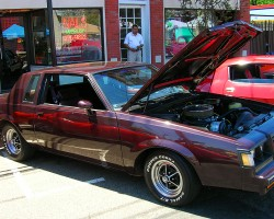 This '82 Buick Regal coupe was equipped with a souped up version of the factory 5.0-liter V8.