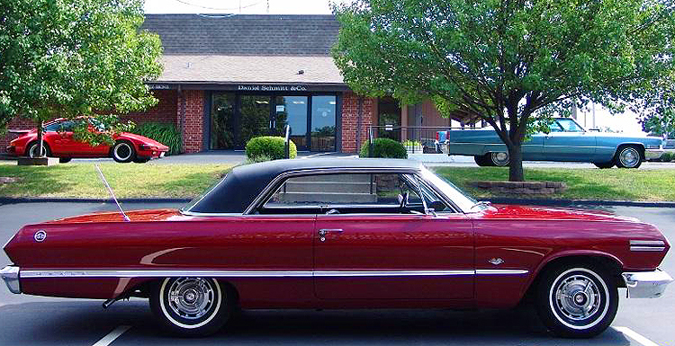 1963 Chevrolet Impala SS vinyl roof | CLASSIC CARS TODAY ...