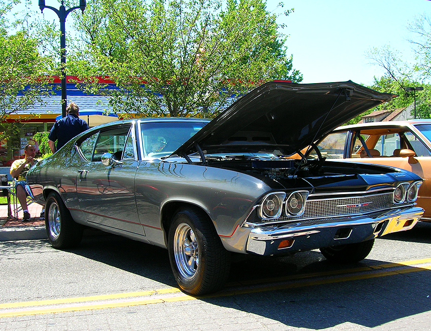 1968 Chevrolet Chevelle hardtop coupe.  (Photo credit: Sean Connor)