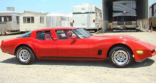 1980 Chevrolet Corvette 4-door sedan.  (Photo credit: A. Wilson)
