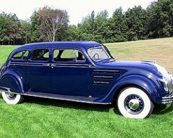 1934 Chrysler Airflow sedan.
