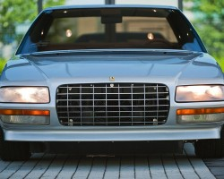 A view of the front of the 1980 Ferrari Pinin sedan.  (Photo credit: Wikicars)