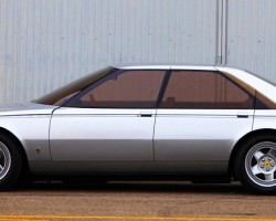 Although the concept was well received by the public, Ferrari never put the Pinin into production. Nevertheless, certain styling cues such as the high belt-line can be found on later models designed by Pininfarina such as the Peugeot 405.  (Photo credit: Auto Galeria)