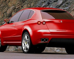 A Ferrari sport utility vehicle concept, circa 2010.  It is unlikely to see production.  (Photo credit: Ferrari S.p.A.)