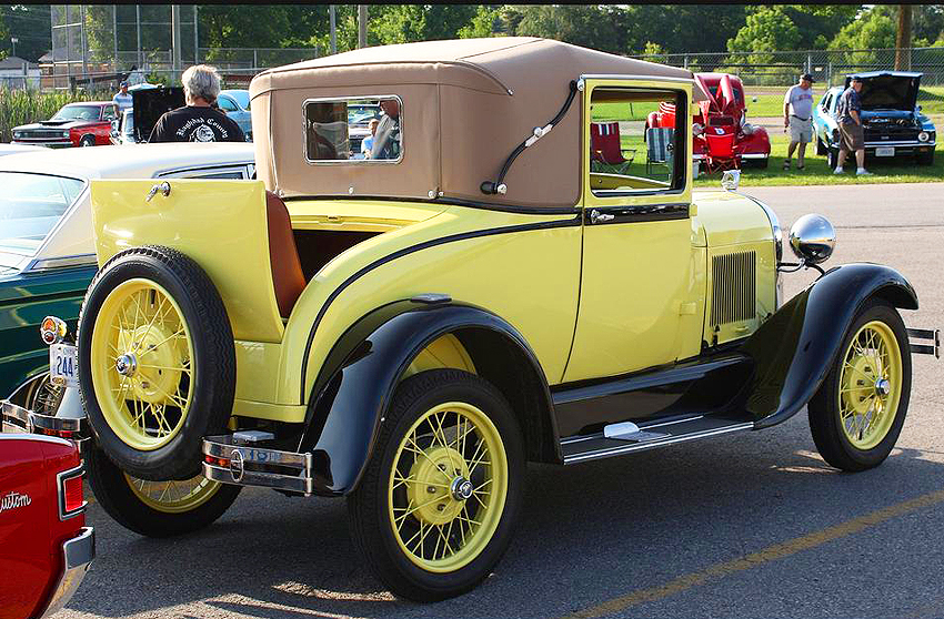 1928 Ford Model A Coupe Classic Cars Today Online