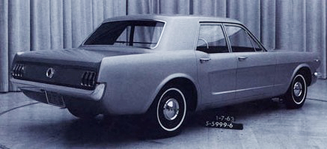 1964 Ford Mustang 4 Door Sedan Prototype