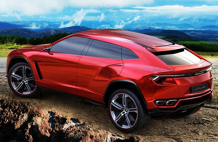Picture #2 of the Lamborghini Urus SUV concept.  (Photo credit: Lamborghini Group)