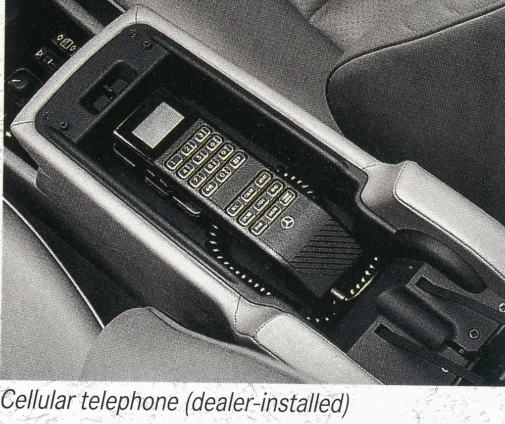 mercedes benz cellular phone