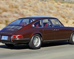 Porsche 911 front doors were reversed to create rear entry portals. (Photo credit: Mad4wheels)