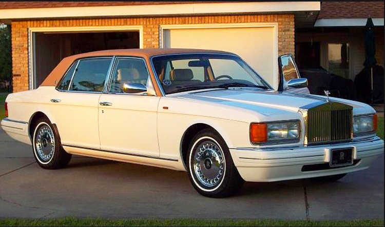 1997 Rolls Royce Silver Spur With Factory Vinyl Roof