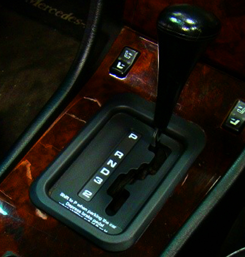1993-95 U.S. model Cabrios were all equipped with 4-speed automatic transmissions.  (Photo credit: P. Morris)