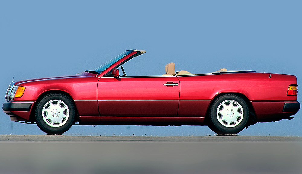 Mercedes Cabriolet Side View Classic Cars Today Online