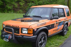 2000 Land Rover Trek Edition Classic Cars Today Online
