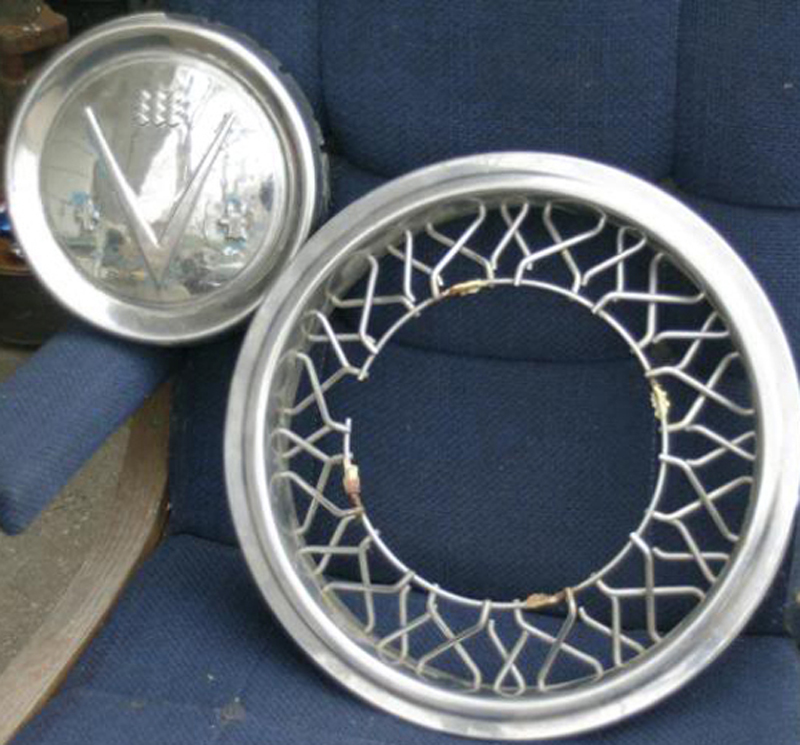 wire wheel cover
