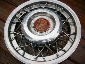 1953 1955 Cadillac Wire Wheel Cover Classic Cars Today