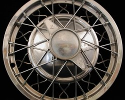 Calnevar wire wheel cover