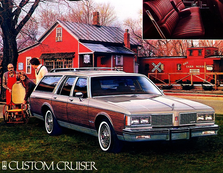 1983 Oldsmobile Custom Cruiser wagon