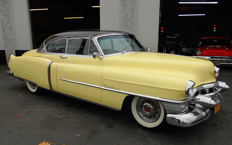 1953 Cadillac wire wheel cover
