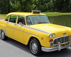 1971 Checker cab