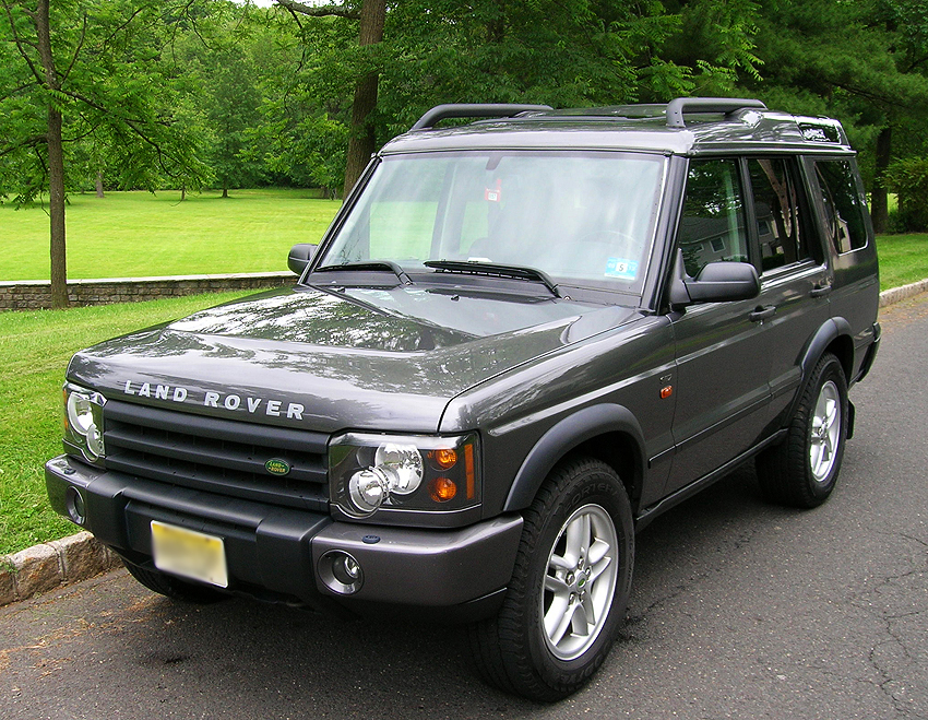 The second generation Land Rover Discovery was produced during the 1999 - 2004 model years.  Shown, a 2004 Discovery SE7.