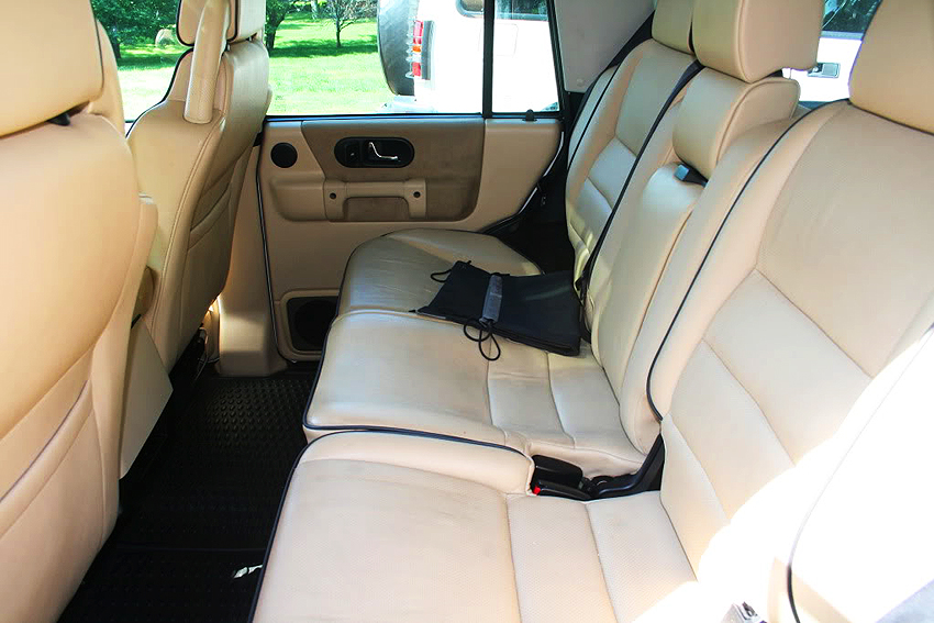 Second Row Seat View Of A 2004 Land Rover Discovery Tan Interior Classic Cars Today Online