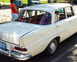 1965 Mercedes 190D owned by John Bleimaier.  (Photo credit: Sean Connor)
