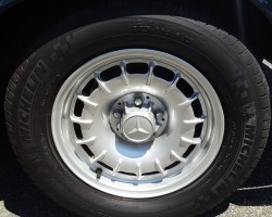 15-inch Mercedes bundt aluminum wheels