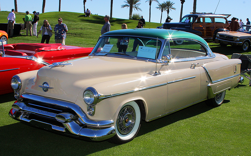1953 Oldsmobile 98 With Wire Wheel Covers