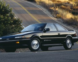 The following generation (1988 - 1991) of Corolla GT-S coupes were also front-wheel-drive.  (Photo credit: Toyota Motor of North America, Inc.)