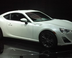 "Inspired by the cult popularity of the 1984 - 1987 Corolla Sport, Toyota is bringing to market the new-for-2013 Scion FT86.  The ""86"" is named for the Corolla Sport's original ""AE86"" platform name.  (Photo credit: Sean Connor)"