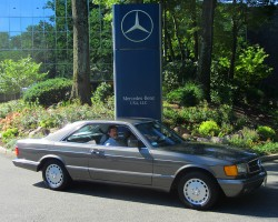 1987 Mercedes 560SEC owned by John Welsh.