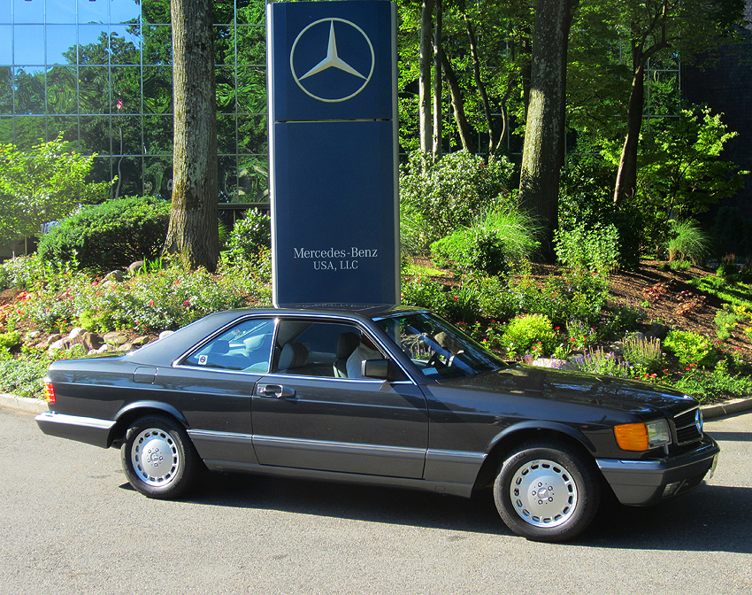 1991 Mercedes 560SEC owned by David North