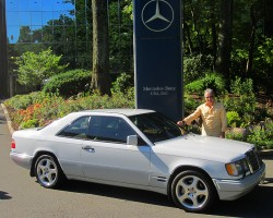 1993 Mercedes 300CE coupe owned by Valery Moskin.