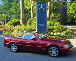 1997 Mercedes SL500 Anniversary Edition owned by Don Stellhorn.