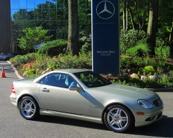 2002 Mercedes SLK32 AMG owned by Gregory Bob