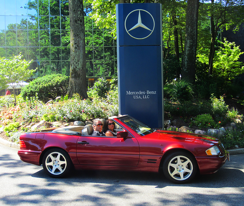 1997 Mercedes SL500 Anniversary Edition owned by John Votta.
