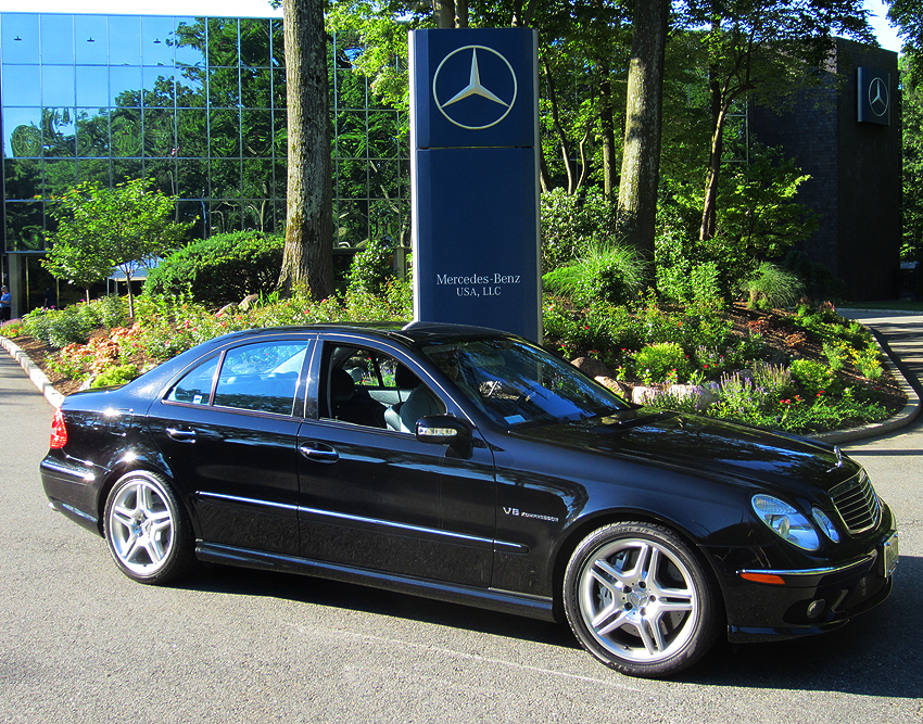 2003 Mercedes-Benz E55 AMG at 2012 June Jamboree in Montvale, NJ ...
