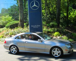 2001 Mercedes CLK320 owned by Priscilla Sedita.