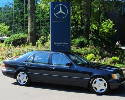 1998 Mercedes S500 owned by Dominick Citera.