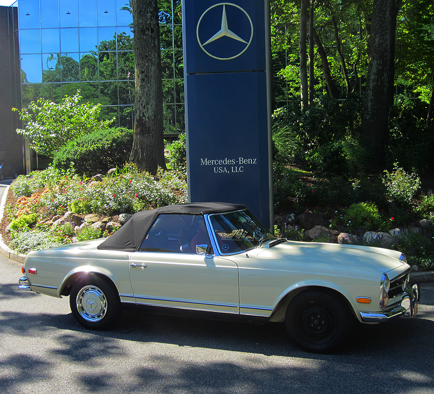 1970 mercedes benz 280sl pagoda at 2012 june jamboree in for Mercedes benz montvale nj