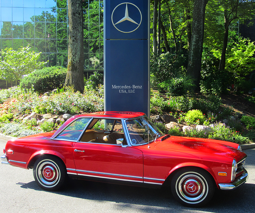 1968 mercedes benz 250sl at 2012 june jamboree in montvale for Mercedes benz corporate office