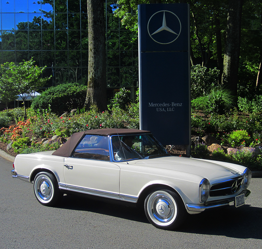 1964 mercedes benz 230sl pagoda at 2012 june jamboree in for Mercedes benz montvale nj